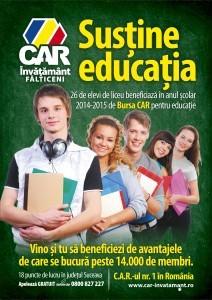Bursa CAR pentru educatie