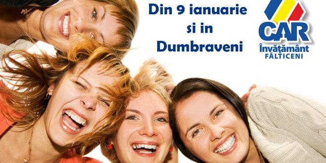 Din 9 ianuarie si in Dumbraveni