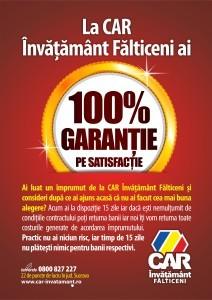 CAR afis 100 garantie 2015