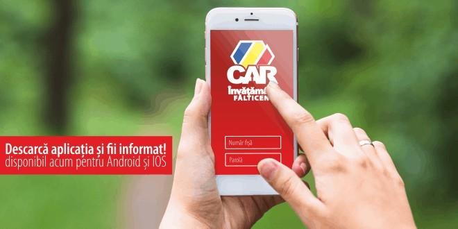 aplicatie mobila car invatamant falticeni