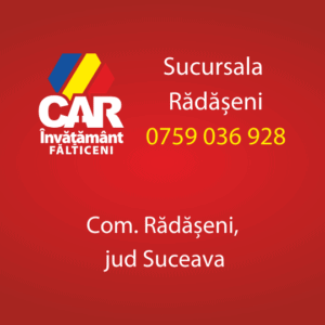 radaseni car invatamant falticeni