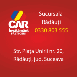 radauti car invatamant falticeni